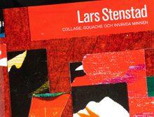 Böcker… en vacker bok om Lars Stenstads konst – collage, textil och gouacher